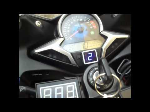Motosiklete vites göstergesi uygulamak