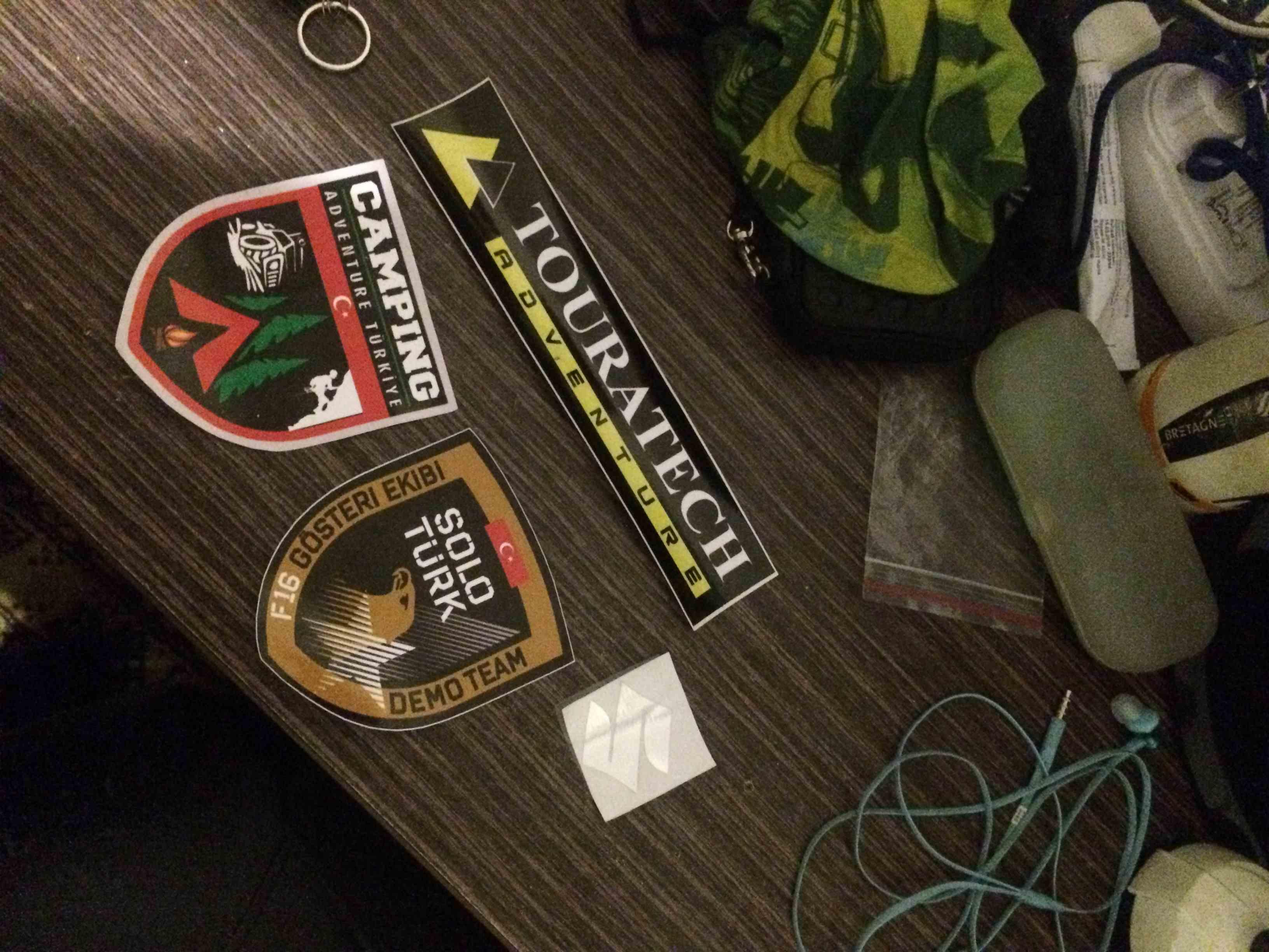 Atakan Demirtürk V-strom dl650 Sticker uygulaması