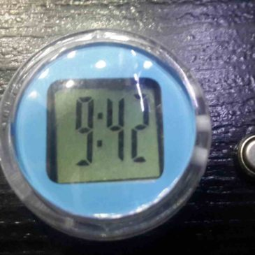 Dijital Motosiklet Saati(Su geçirmez Motosiklet Saati İncelemesi 10TL)