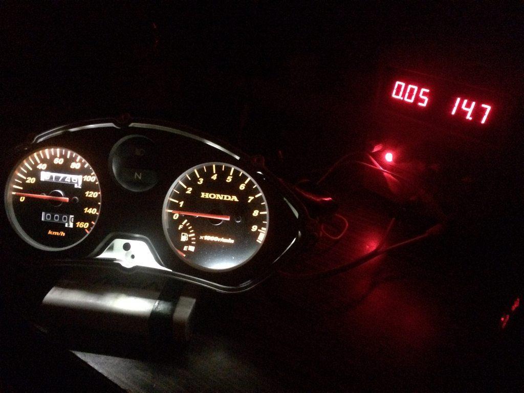 Honda cbf 150 Gösterge ışıkları değişimi nasıl yapılır? hangi lambalar kullanılır?