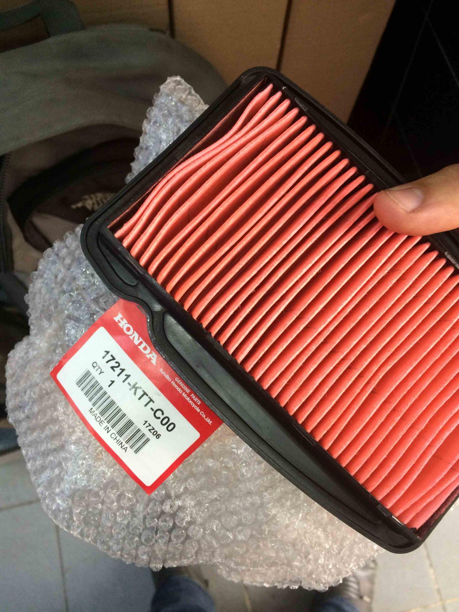 Honda cbf 150 orjinal hava filtresi