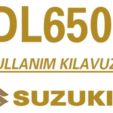 Suzuki V-strom Dl650-Dl1000 Kullanım Klavuzu Ve Bakım Şemaları Pdf