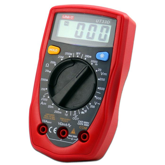 Unit Ut33D Multimetre