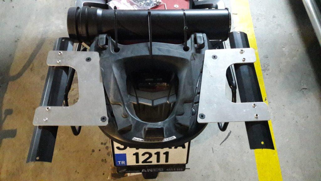 Honda crf1000L el Yapımı Avadanlık Uygulaması