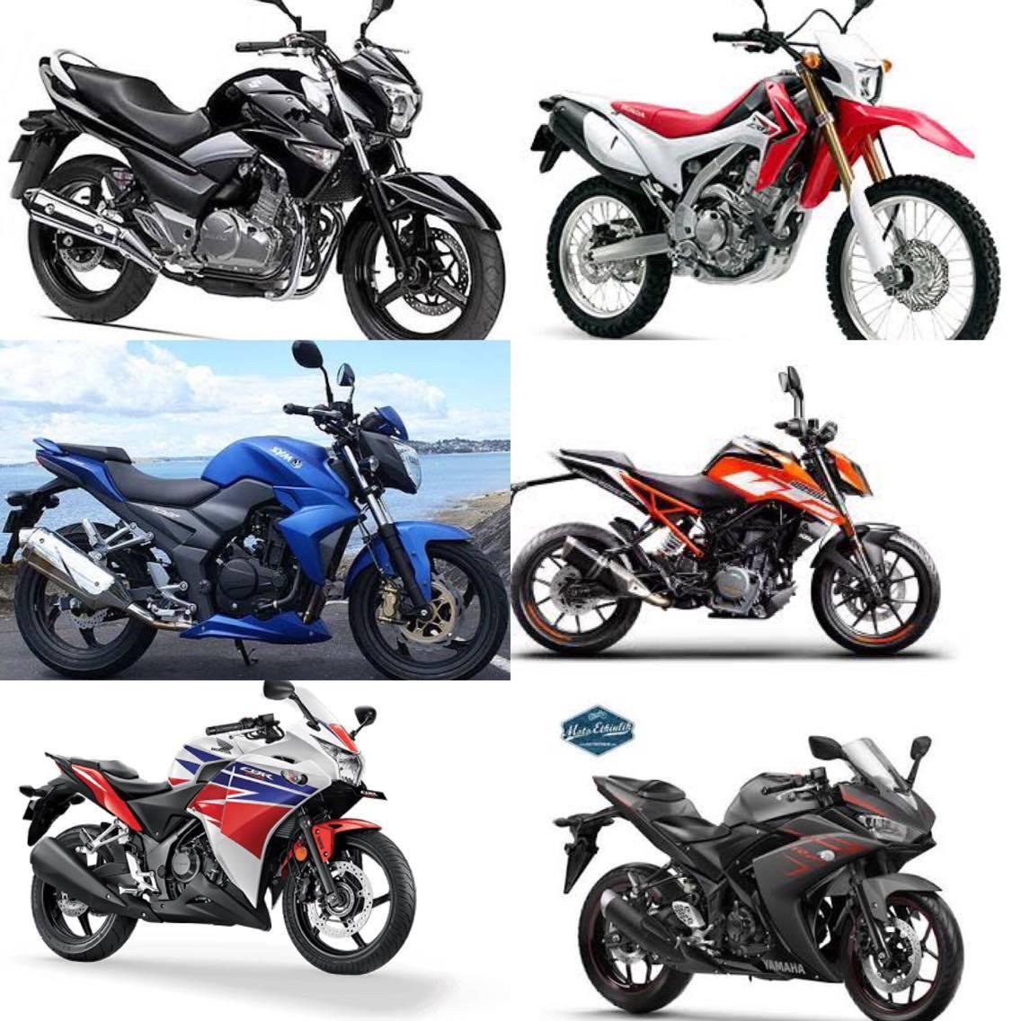 250cc Motosikletler