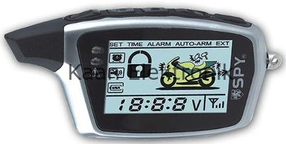 Spy5000m Motosiklet Alarmı İncelemesi Kumanda özellikleri