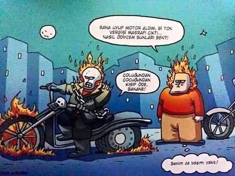 Siz mi Motosiklete Biniyorsunuz Yoksa Motosiklet mi Size biniyor? Motosiklet Araç mı Amaç mı?