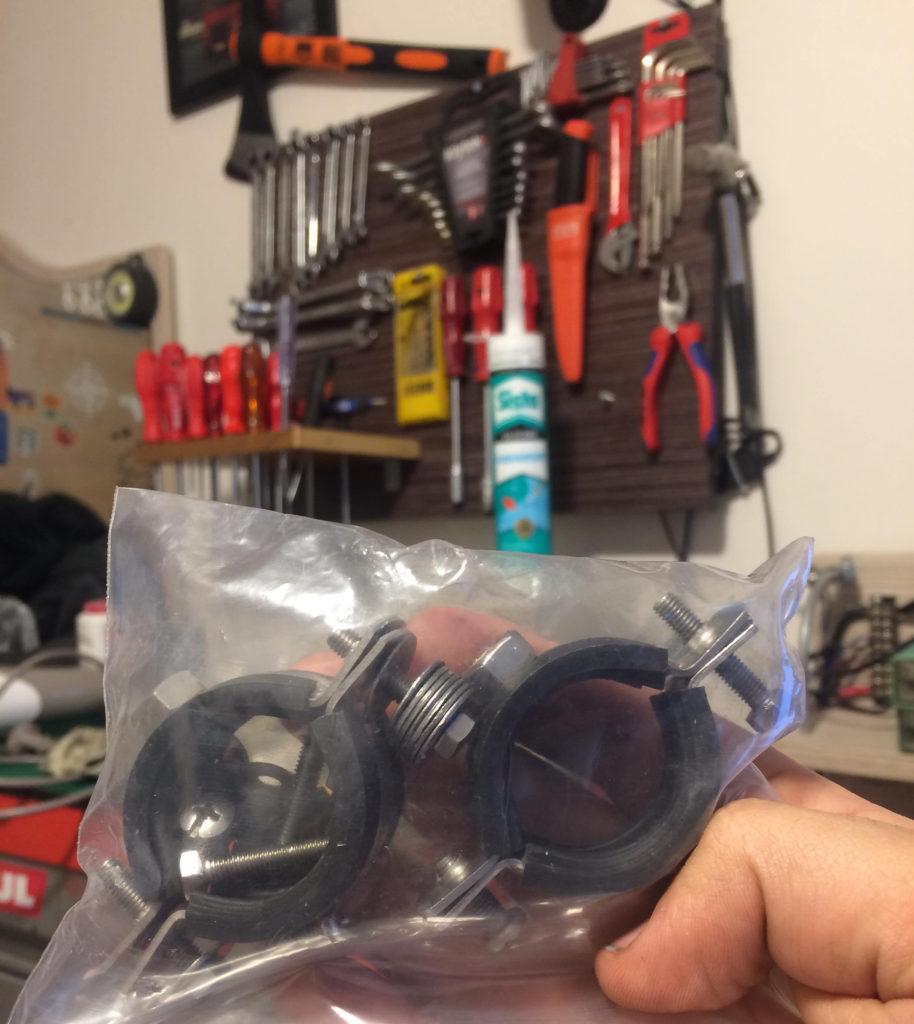 Honda cbf 150 motosiklete sis farı uygulaması sis farı tutamaçı