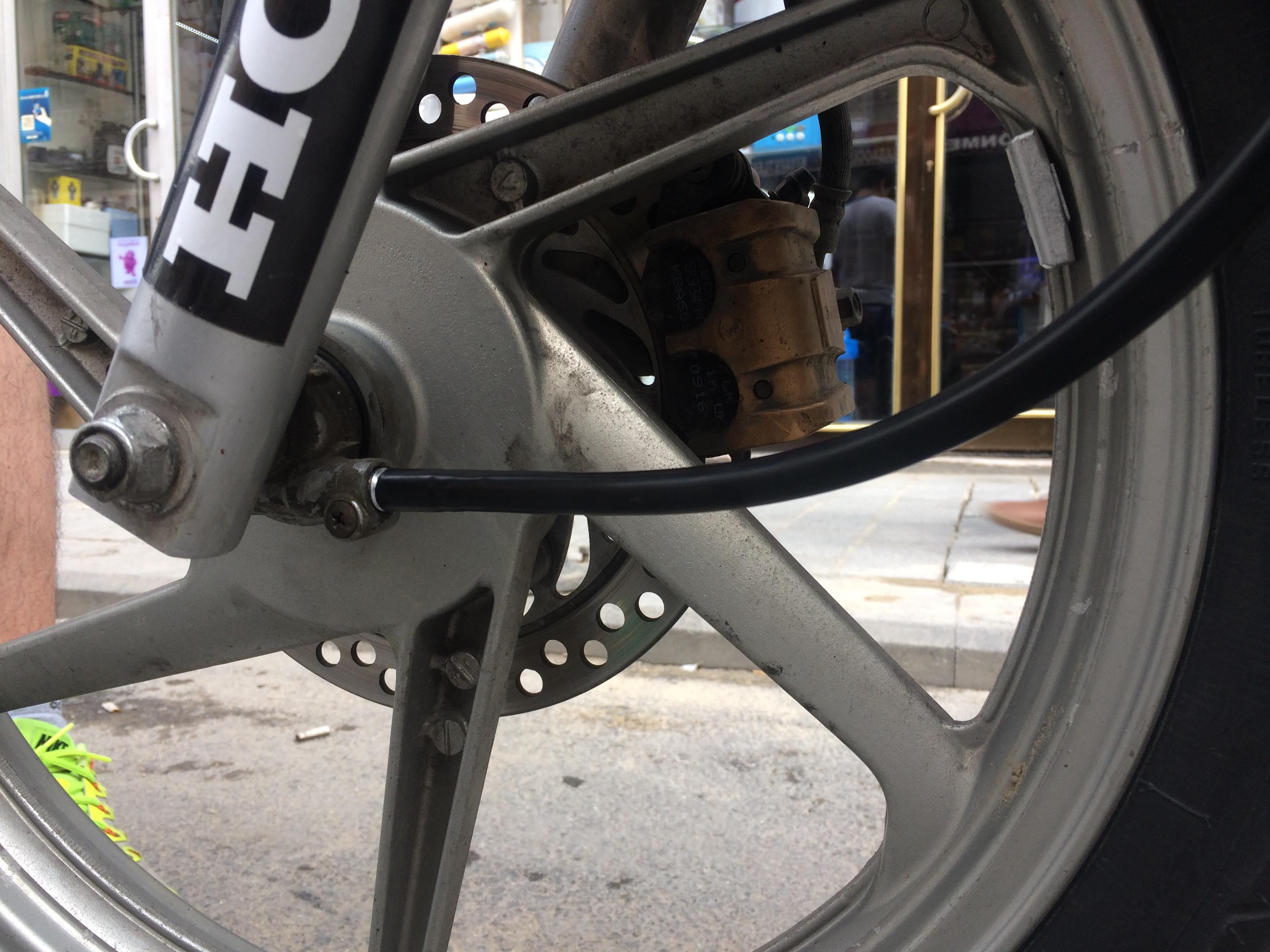 Honda cbf 150 kilometre teli nasıl değiştirilir maliyeti nedir