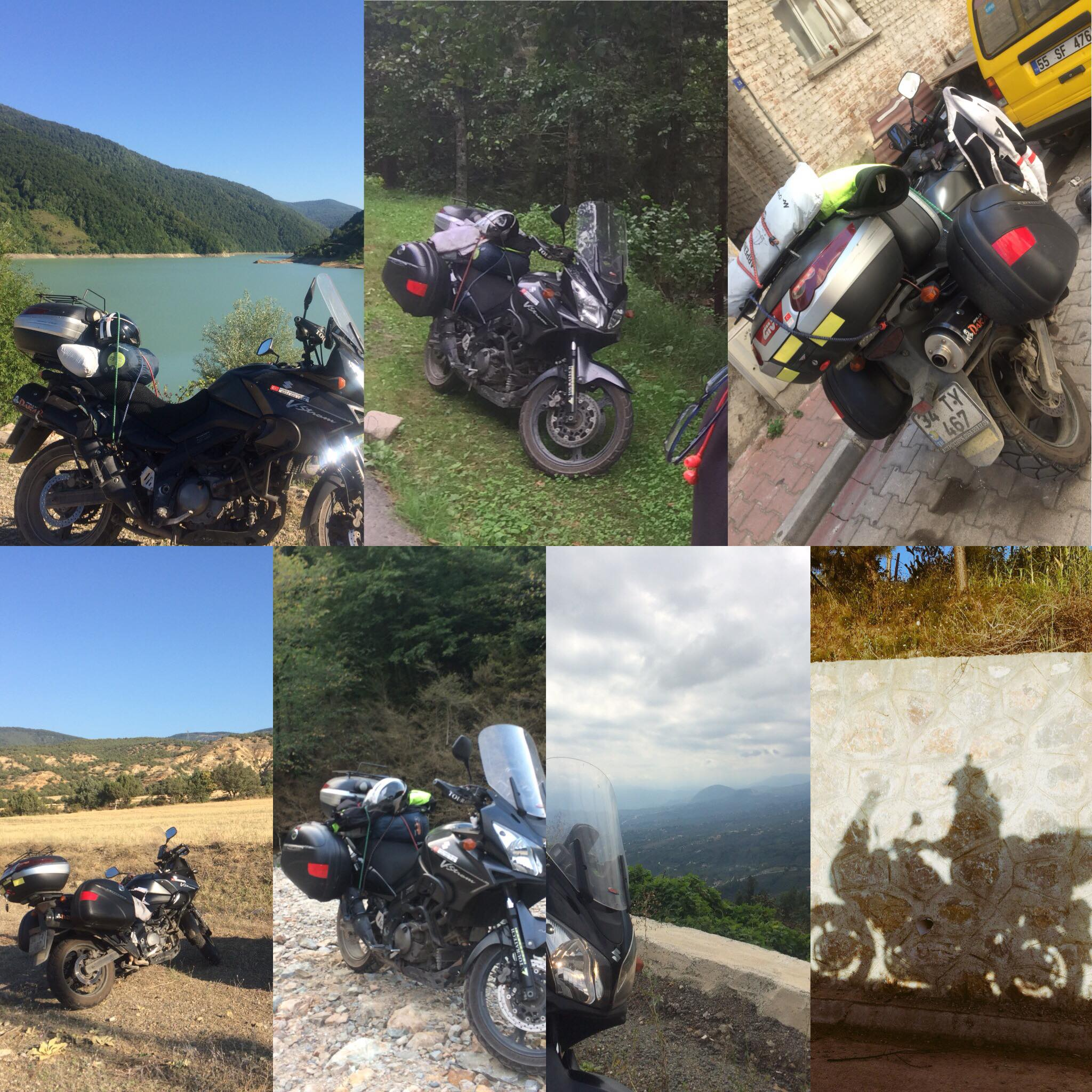 Atakan Demirtürk Suzuki v-strom dl650 Karadeniz gezisi