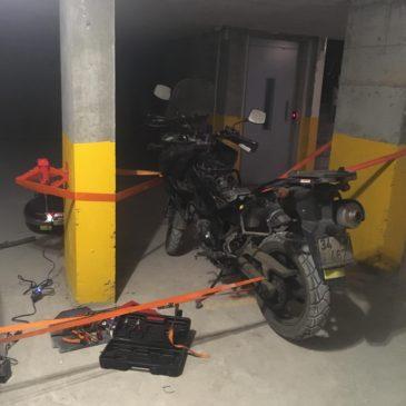 Motosiklette Yamulan Koruma Demirleri Nasıl Düzeltilir? Suzuki v-strom Koruma Demirlerini Düzeltmek
