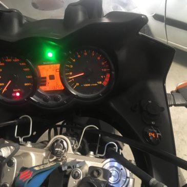 Suzuki V-strom Dl650'ye Voltmetre Uygulaması Voltmetre Nasıl takılır