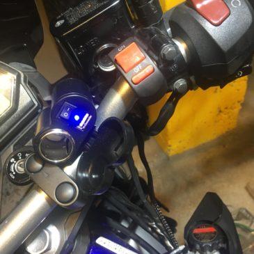 Yamaha Mt-25'e Çakmaklık Usb uygulaması Nasıl takılır?