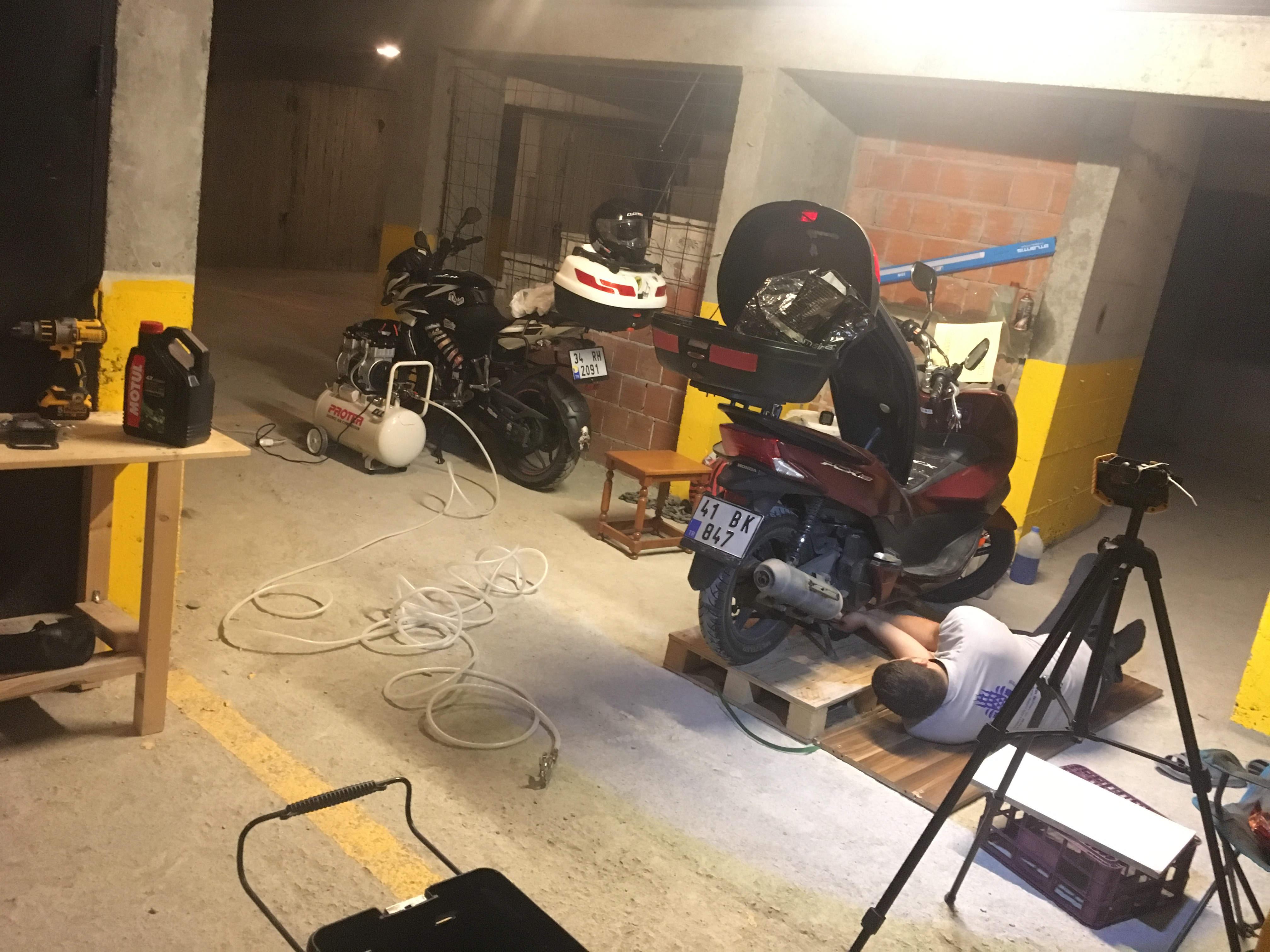 Honda pcx 150 Bakımları