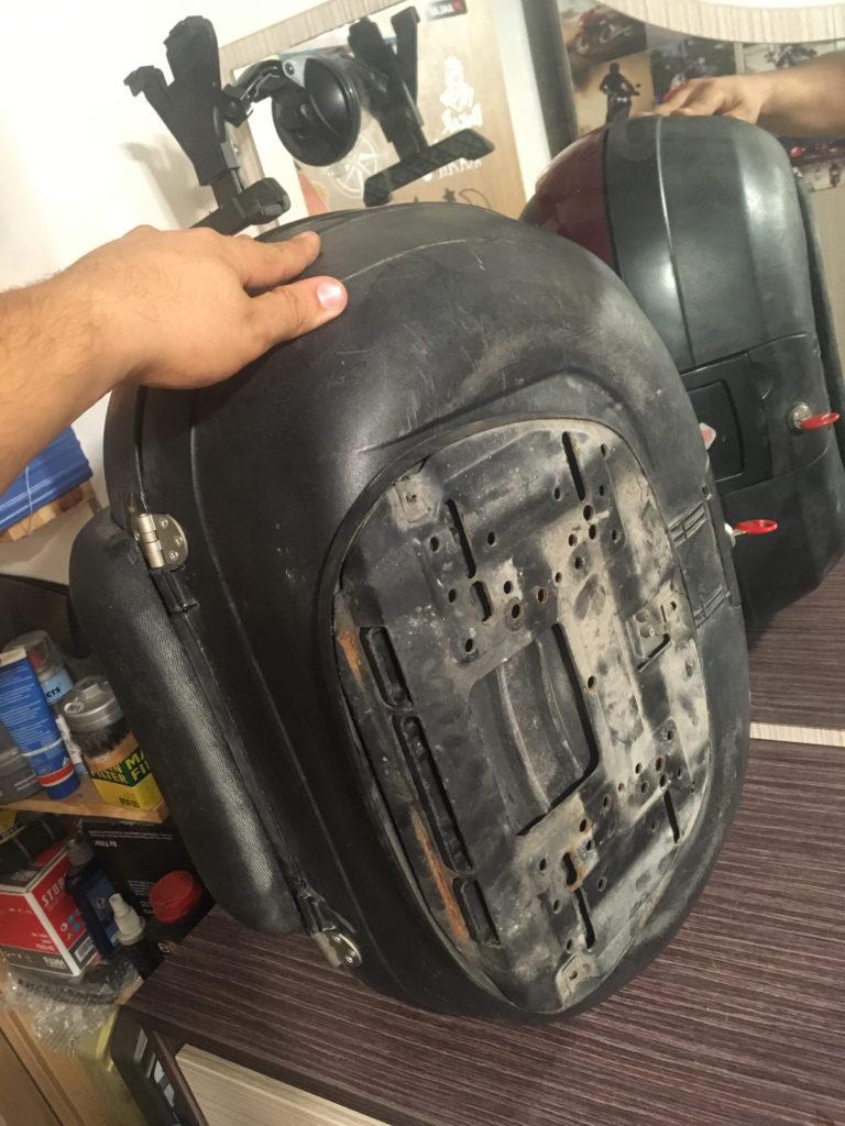 Kırılan Topcaselerin Onarılması ve Revizyon İşlemleri Shad sh48