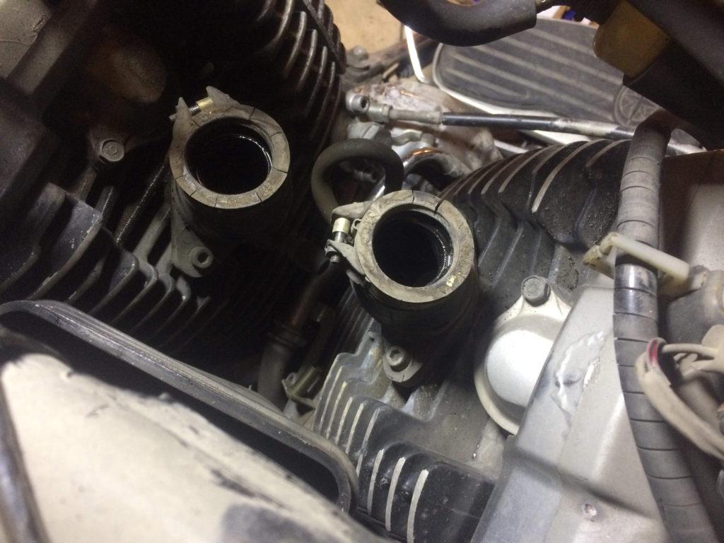 Yamaha dragstar 650 Manifolt Değişim işlemi