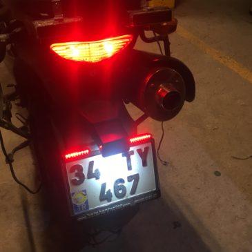 Motosiklet İçin Led Stop Ampülü 21/5watt Güçlü Fren Ampülü İncelemesi Suzuki V-strom