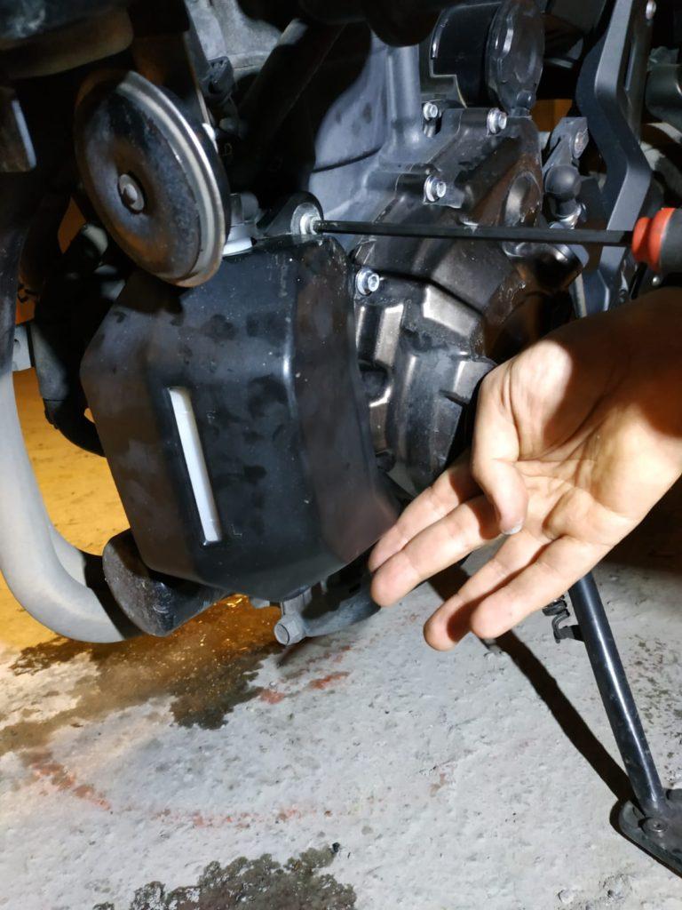 Yamaha Tracer 07 Antifirizi nasıl değişitirilir?