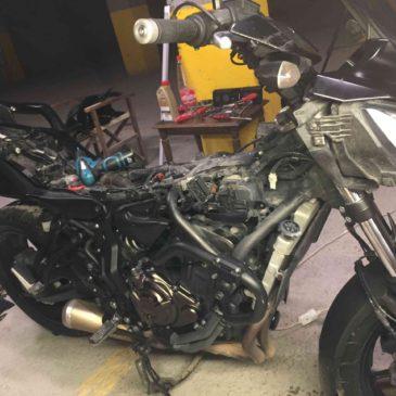 Yamaha MT07 Ve Tracer 07 Bujileri nasıl değiştirilir?