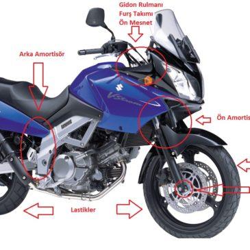 Motosiklet Gidon Yalpalama,Sallanma,Tokatlama Sebepleri ve Çözümleri