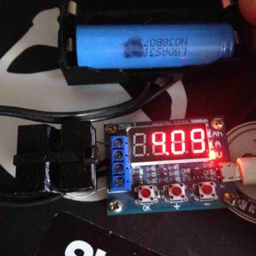 Li İon Batarya Kapasite Ölçüm-Test Cihazı HW586 Hakkında Her şey